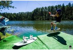 3 d. treniruotės su treneriu vandenlenčių parke Druskininkuose