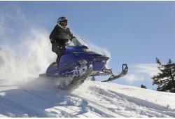 Žiemos safaris sniego motociklais