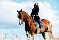 Nepamirštama fotosesija su žirgais Vilniuje