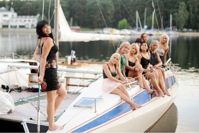 Nepamirštamas plaukimas jachta Kauno mariomis 1-15 asmenims