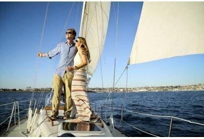 Visos dienos pramoginė kelionė jachta su nakvyne