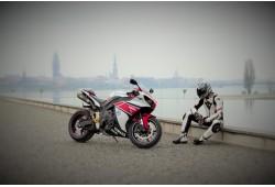 Moto pastaiga (izbrauciens motociklu) Rīga centrs Rīga-Jurmala