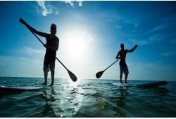 Vaikščiok ant vandens! Plaukimas irklente dviem Trakuose