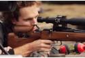 Šaudymas koviniais ginklais lauko šaudykloje iš 3 ginklų