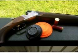 Pramoginis-pražintinis šaudymas į skrendančias lėkštutes