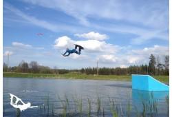 """Linksmybės vandenlenčių parke """"Cabel Park"""" Mažeikiuose"""