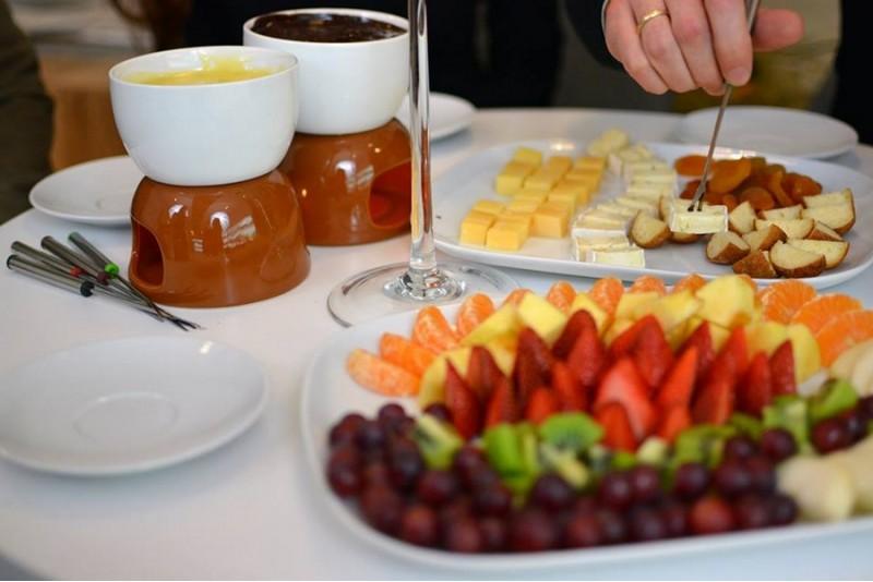Romantiškas belgiško šokolado fondiu dviem Vilniuje
