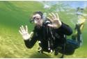 Pažintinis nėrimas su povandenine fotosesija Platelių ežere