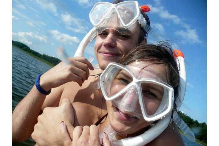 Vamzdeliavimo pamoka Platelių ežere