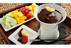 Šokolado fondiu dviem Panevėžyje
