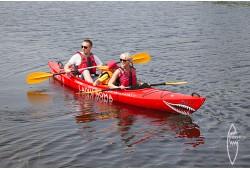 Brauciens pa Liepājas ezeru un kanālu diviem
