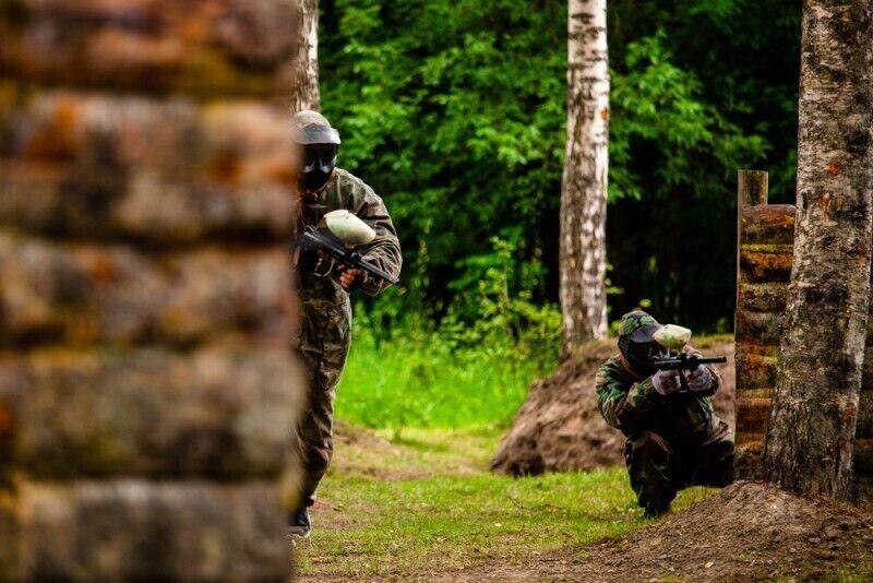 Dažasvydžio žaidimas grupei Salaspilyje