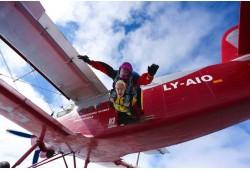 Tandem šuolis parašiutu su filmavimu Raudondvario aerodrome