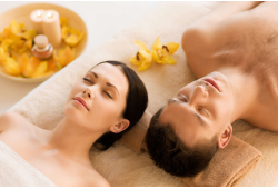 Aromaterapinis pirties ir masažo ritualas dviem Kaune