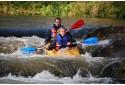 Ekstremalus plaukimas baidare Vilnelės upe