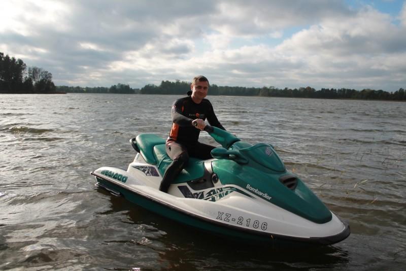 Vandens motociklo pramoga 1-3 asmenims Daugpilyje