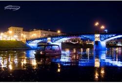 Romantiškas pasiplaukiojimas laivu dviem Vilniuje