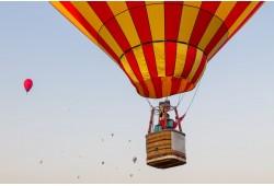 Romantiškas skrydis oro balionu dviem Klaipėdoje