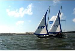 """Romantiška kelionė jachta """"Montė"""" prie didžiosios kopos"""