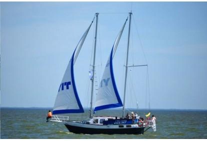 """Kelionė kompanijai jachta """"Montė"""" į Nemuno deltą, Mingės kaimą"""