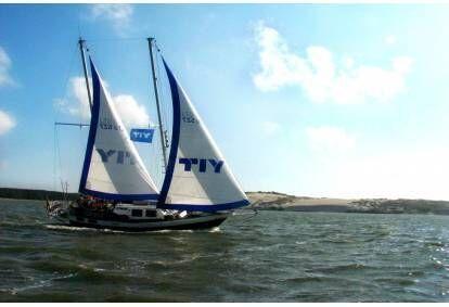 """Kelionė jachta """"Montė"""" prie didžiosios kopos 1-12 asmenims"""