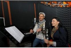 Dainos įrašymas studijoje Vilniuje (2 asmenims)