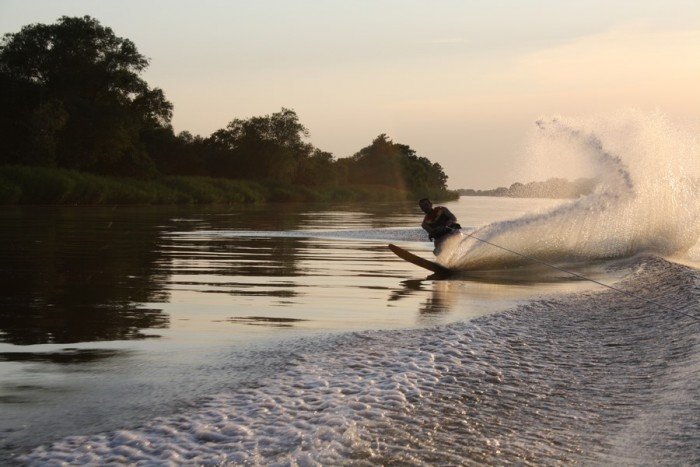 Vandens pramogos Nemuno deltoje