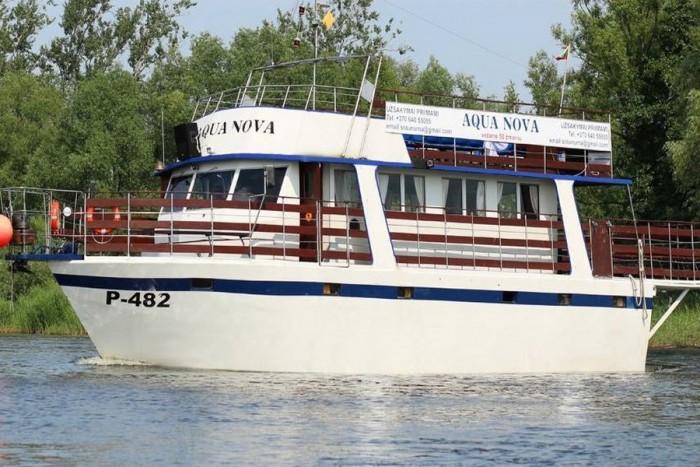 Kelionė laivu iš Rusnės į Nidą ir atgal