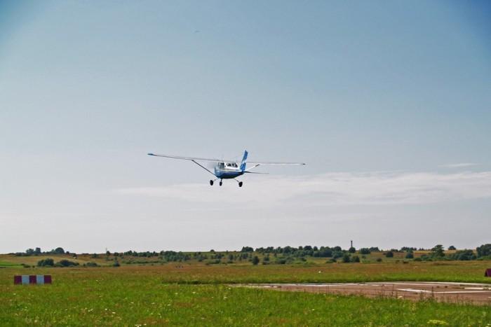 Skrydis lėktuvu virš Nidos (3 asmenims)