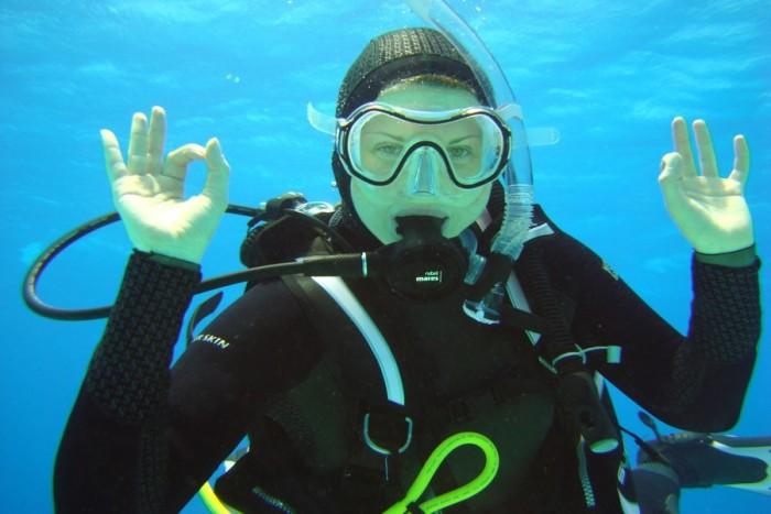 Pažintinis nėrimas su povandenine fotosesija