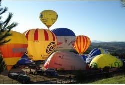 Romantiškas skrydis oro balionu dviems Birštone