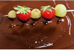 """Šokolado fondiu """"Šokolado sostinėje"""" Trakuose"""