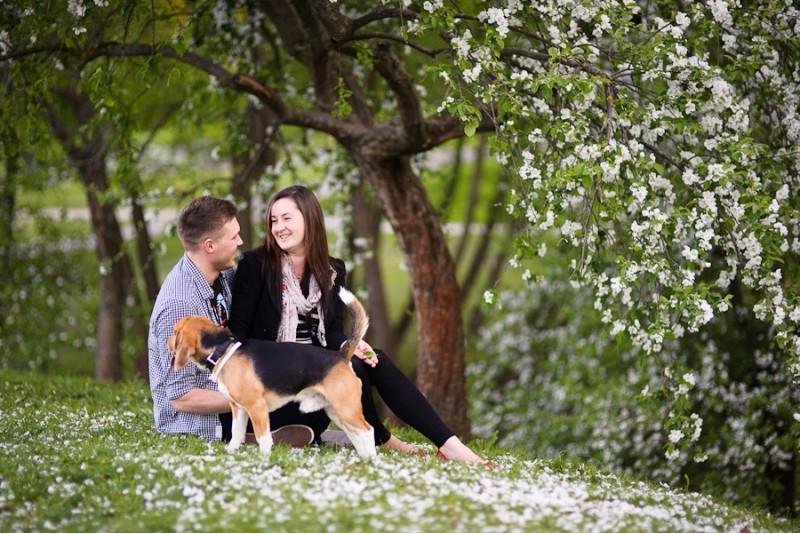 Romantiška poros fotosesija Alytuje