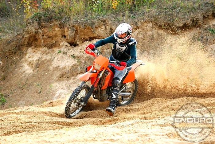 Vairavimo pamoka Enduro motociklu