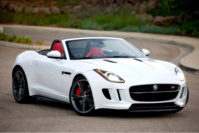Vairuok sportinį Jaguar F-Type S miesto gatvėse