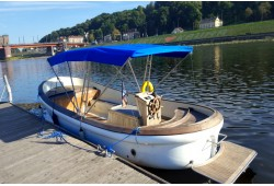 Pasiplaukiojimas pramoginiu laivu Nemuno ir Neries upėmis Kaune