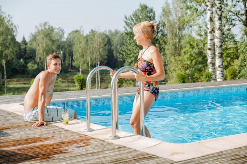 Atokvėpis SPA pirčių ir baseinų komplekse dviem Siguldoje