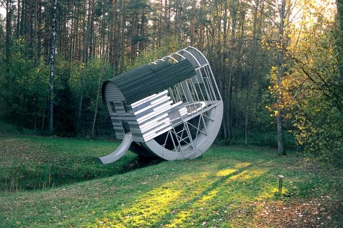 Apsilankymas muziejuje po atviru dangumi Europos parke dviem