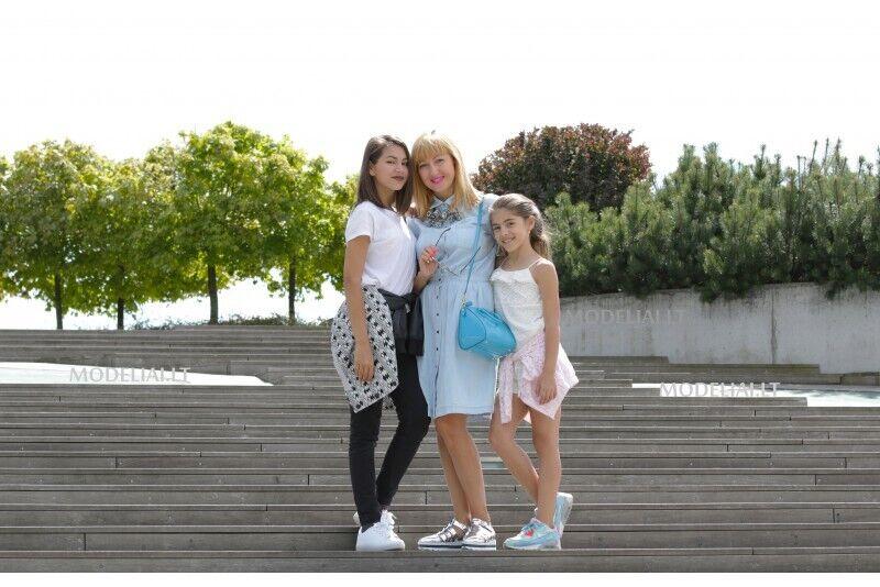 Originali šeimos fotosesija Vilniuje