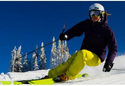 Pramogos kalnų slidinėjimo bazėje Egliukans