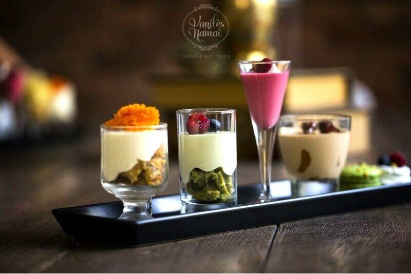 """Prancūziškų desertų degustacija su kava """"Vanilės namuose"""" Klaipėdoje"""