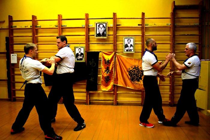 Wing Tsun Kung-Fu kovos meno treniruotės Panevėžyje