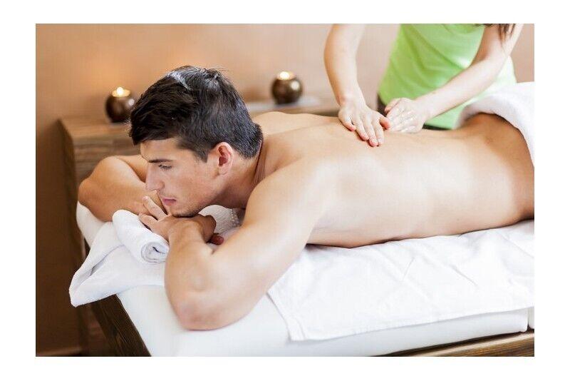 """Masažų rinkinys """"Poilsio valanda vyrui"""" masažo namuose """"Laimės terapija"""""""