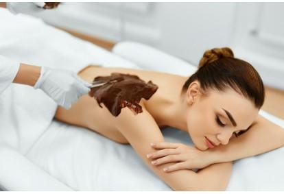 Procedūra visam kūnui su šokolado kosmetiniu kremu Panevėžyje