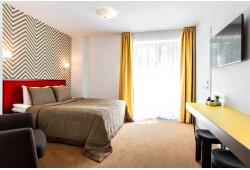 """Romantiškas poilsis viešbutyje """"Simpatija"""" su slidinėjimu """"Snow Arena"""" Druskininkuose"""