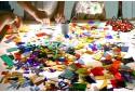Gimtadienio kūrybinės stiklo dirbtuvės vaikams Vilniuje