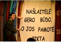 """Apsilankymas """"Atviro rato"""" spektaklyje vaikams Vilniuje"""