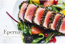 "Gurmaniška vakarienė prancūzų virtuvės restorane ""Épernay"""
