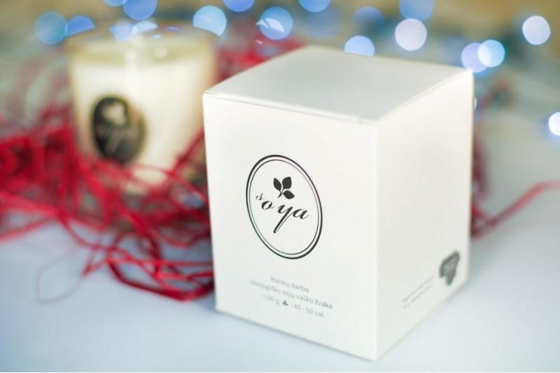 Internetinės žvakių parduotuvės SoyaCandles dovanų čekis
