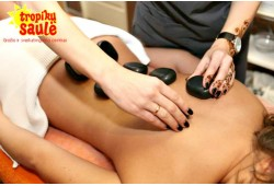 Akmenų masažas su klasikinio masažo elementais Panevėžyje